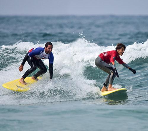 coaching sharing waves