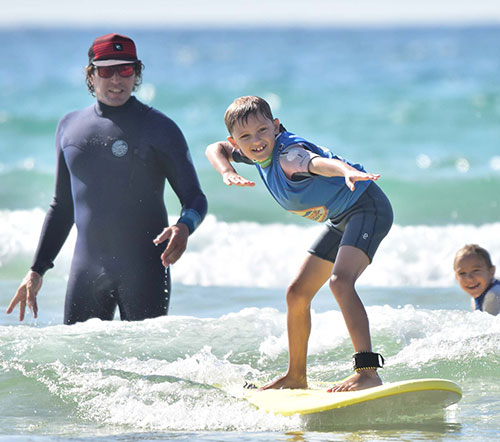 surfing kids perfect
