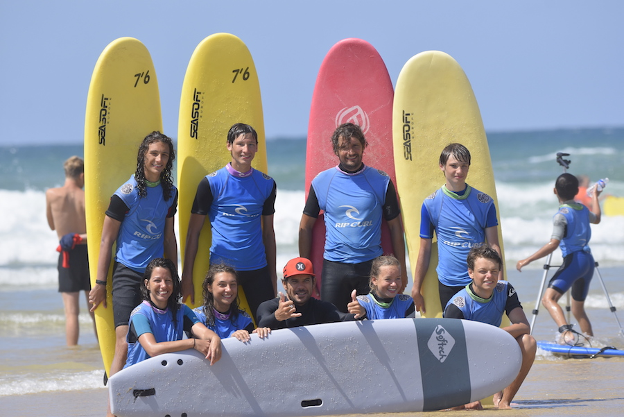 groupe surf adult