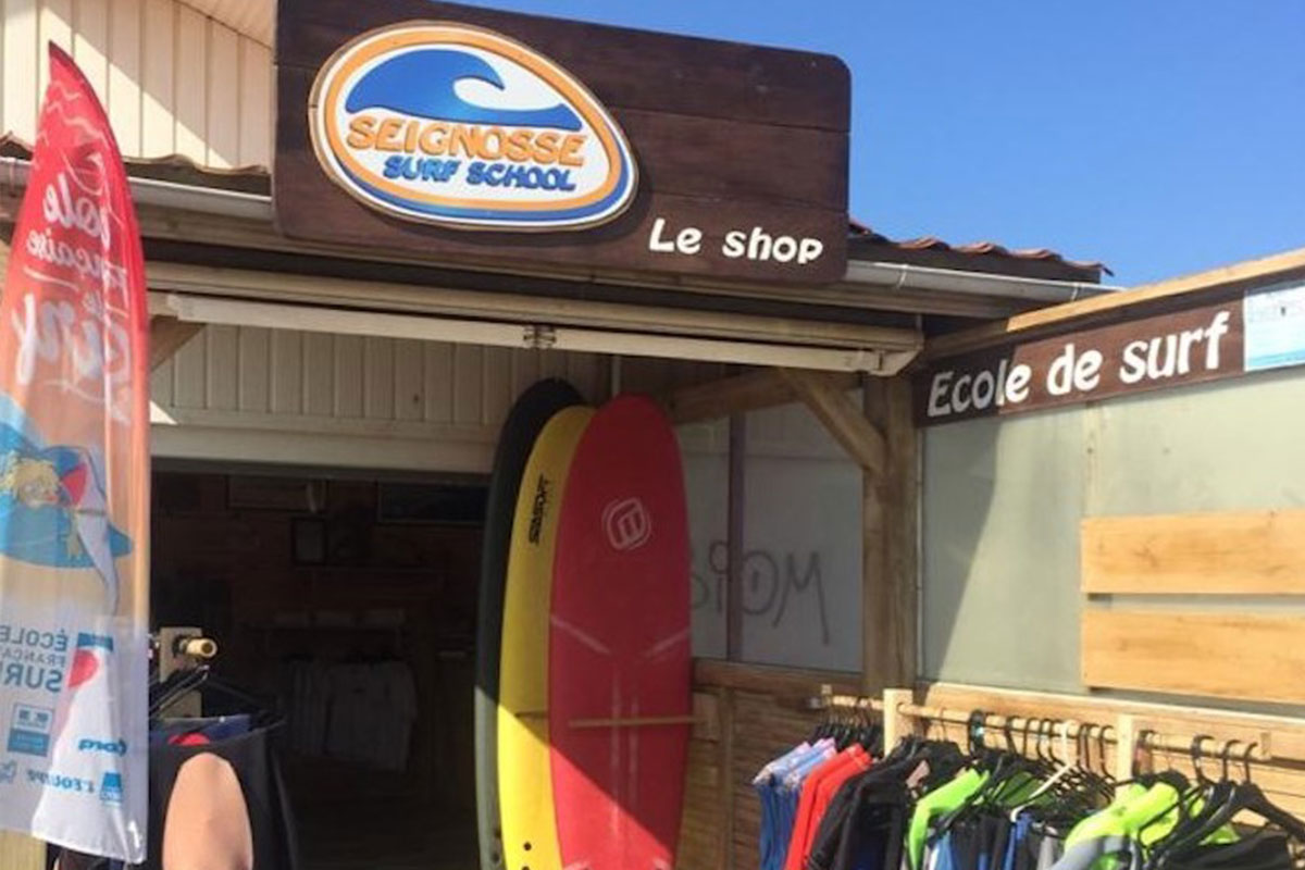 surf shop seignosse