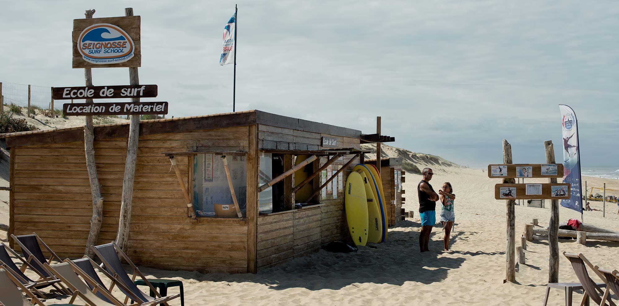 cabane surf shack