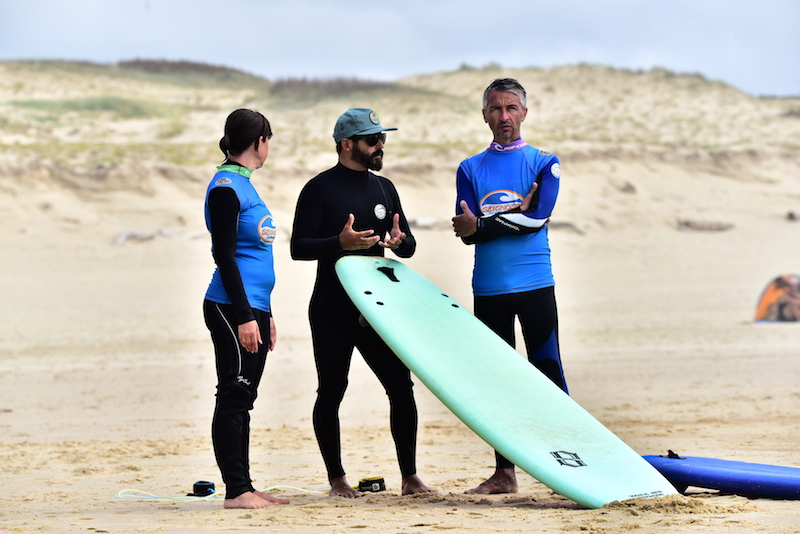 briefing private surf coach