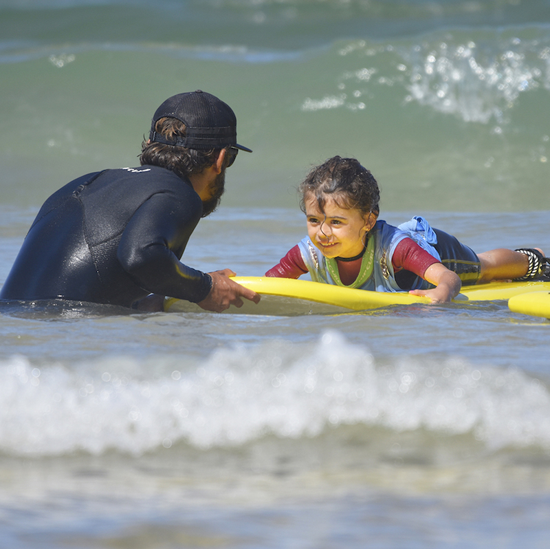 kids seignosse surf