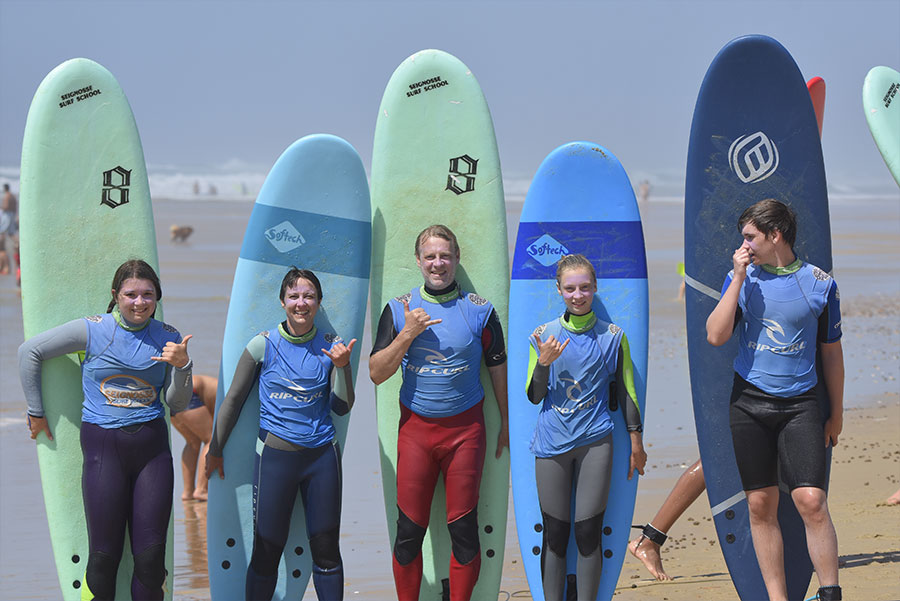 familly surf france