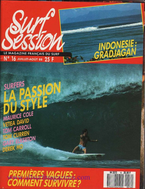 surf mag couverture