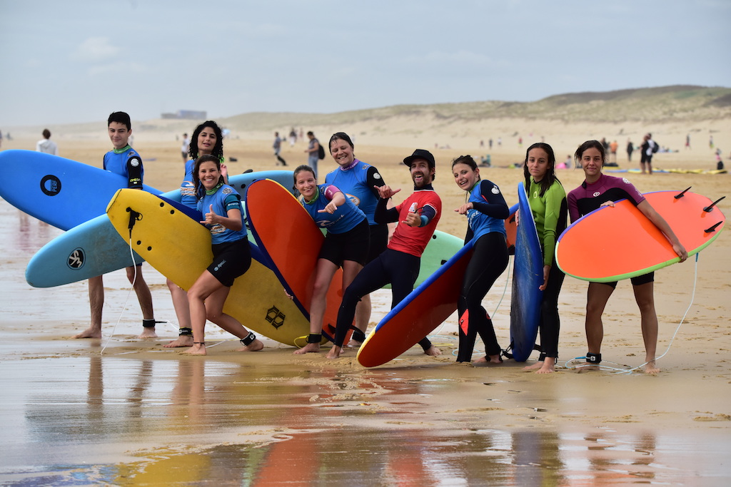group surf picture