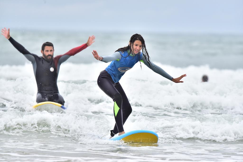 surfing pleasure