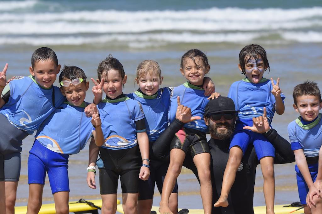 children surf lessons