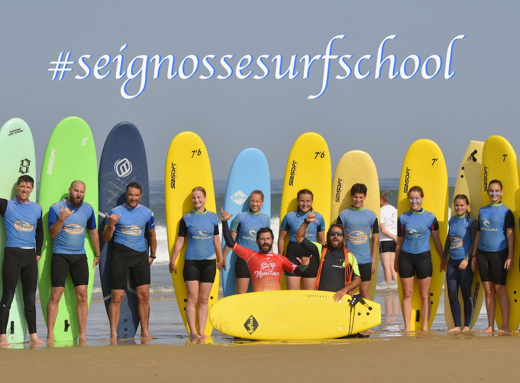 photo group surf course lessons