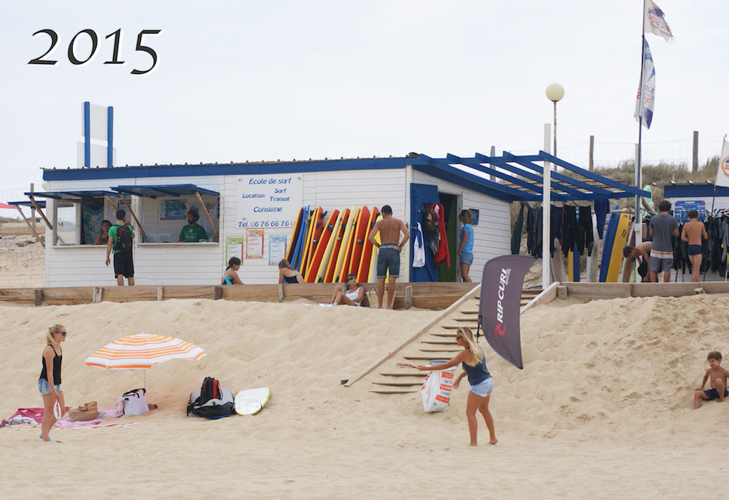 shack surf france le penon