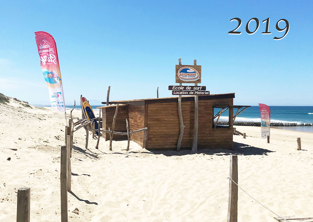 surf shack beach france