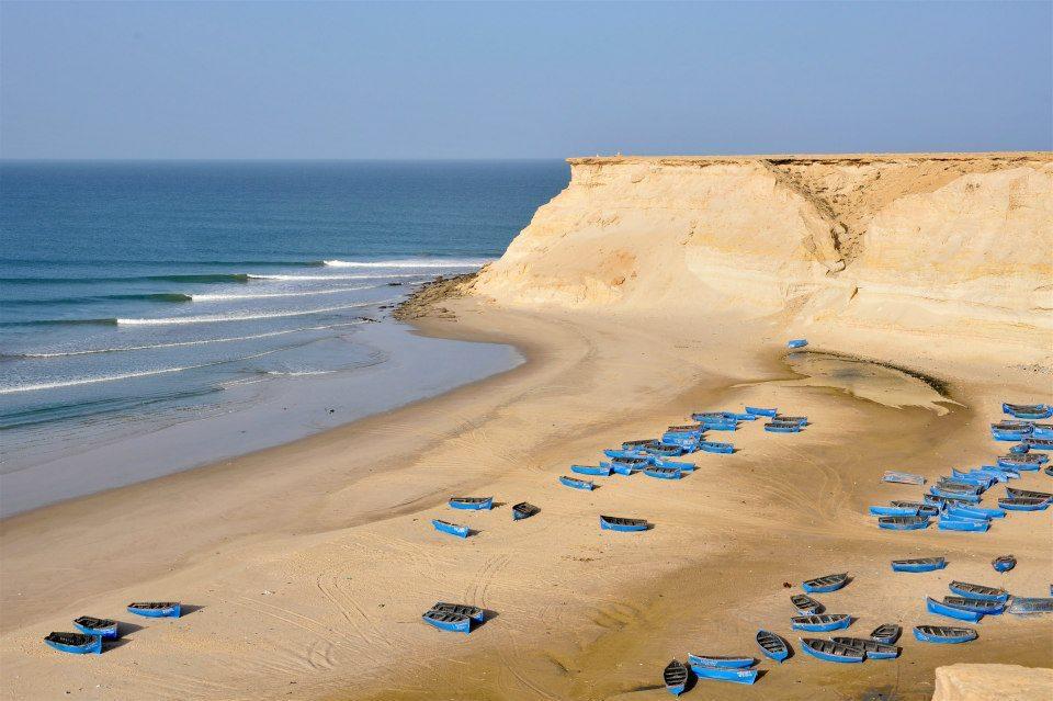 surf spot maroc