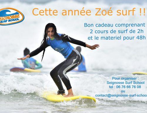 Carte Cadeau Seignosse surf school
